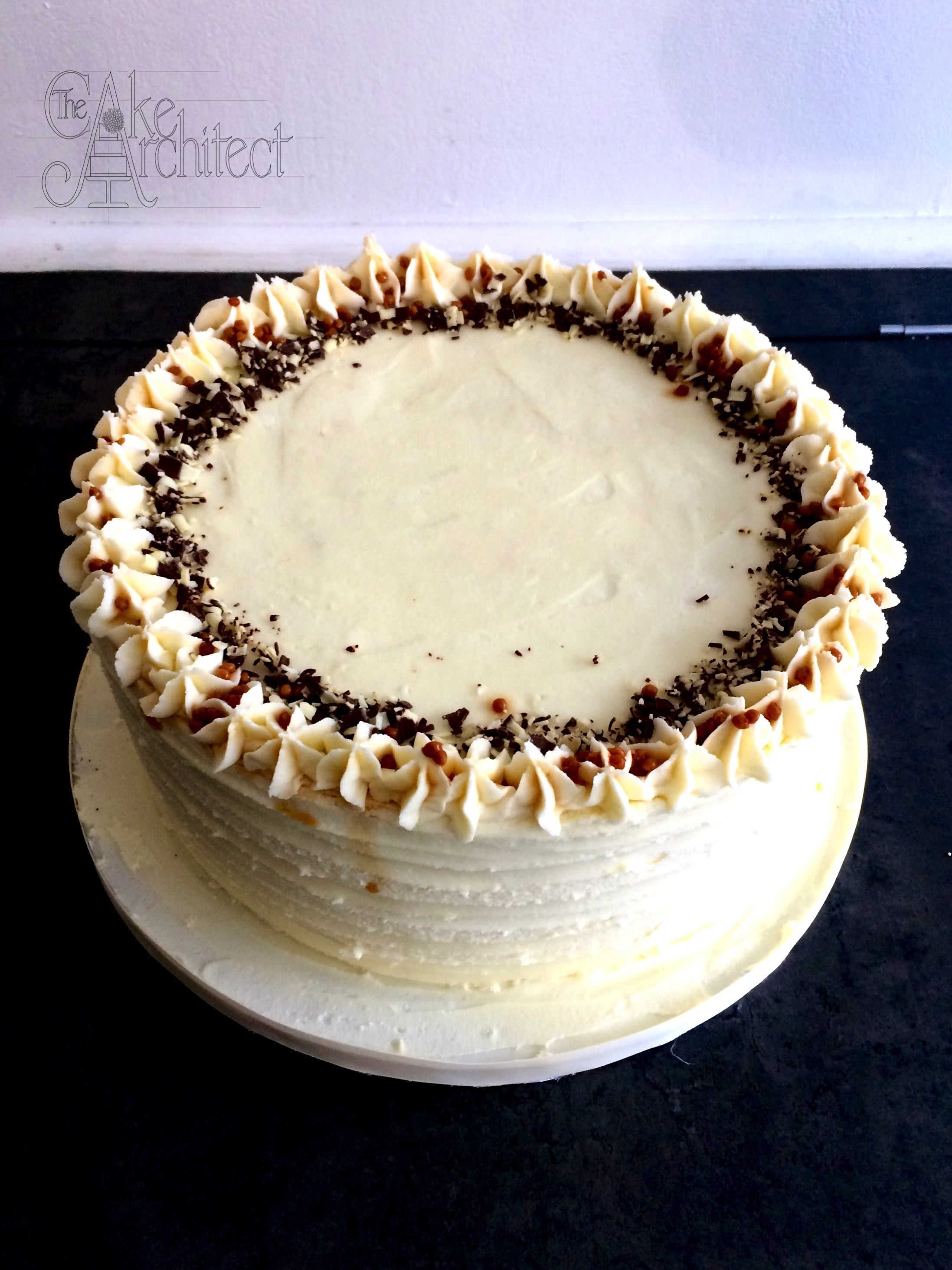 Classic Cake Buttercream finish