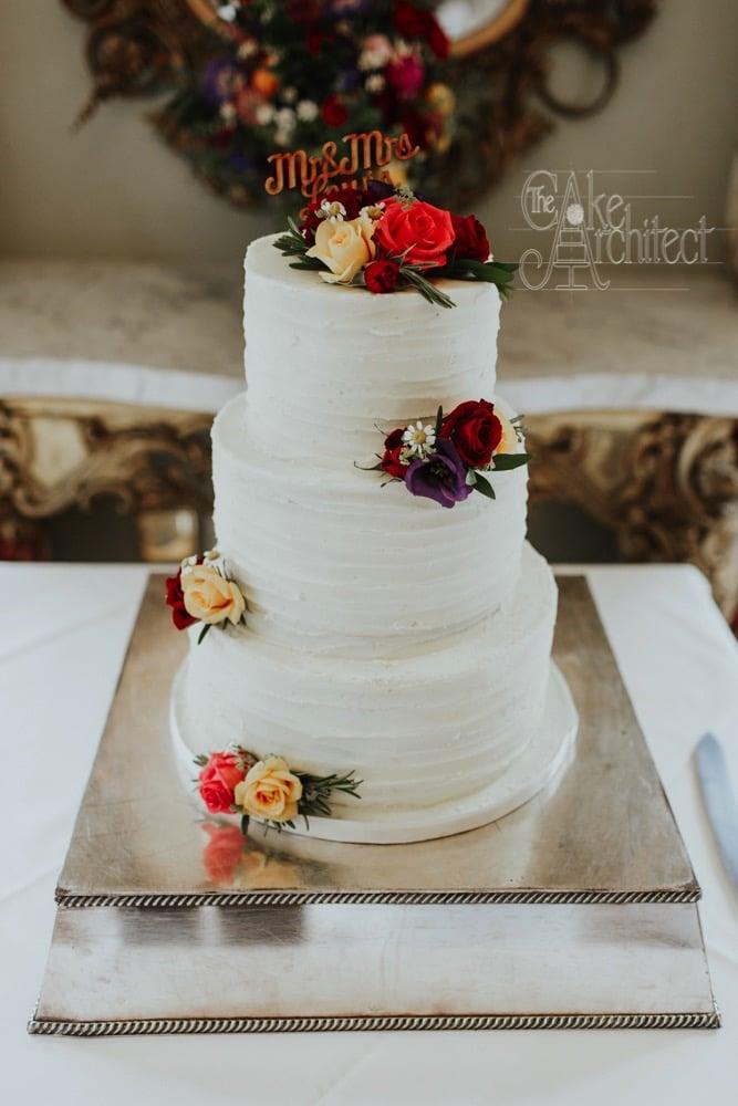 Luxury Wedding Cake, The Cake Architect, Bradford-on-Avon