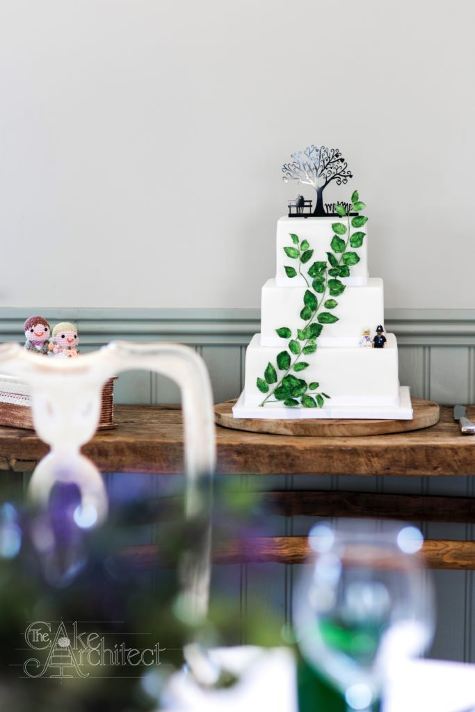 Luxury Floral Wedding Cakes, The Cake Architect, Bradford-on-Avon