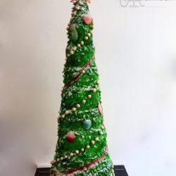 Celebration Cake Sculpted Christmas Tree