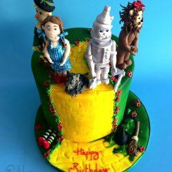 Celebration Cake Wizard of Oz Theme