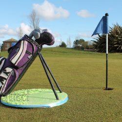 EDIT Celebration Cake Sculpted Golf Bag Lifesize