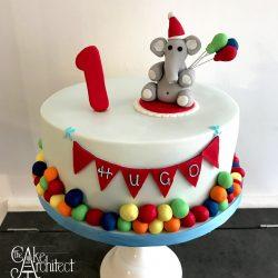 children birthday cake elephant