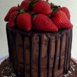 easter choc cake 1