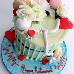 heart nurse cake 2
